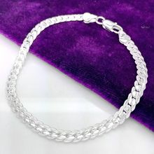 Beautiful Elegant silver plated Snake Bracelet high quality fashion classic jewelry H199 holiday gift priced direct wholesale