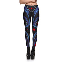 Womens Armor Digital Printing Leisure Slim Leggings Trousers For Ladies Casual Fitness Active Skinny Pencil Pants 4XL Quick Dry(China)