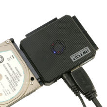 "USB 3.0 HDD Converter Adapter ALL-IN-1 IDE SATA to USB External Cable For 2.5 3.5"" HDD 5.25inch CDROM OTC w/ Power Supply"