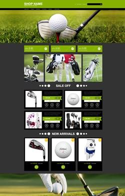 ♥L&E设计♥户外运动 高尔夫周边 三色模板L66