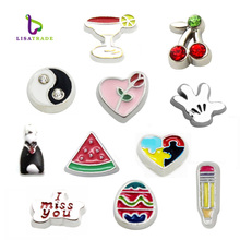 20pcs 8MM Floating charms 11 styles can choose Fit Floating lockets & Floating locket bracelet LSFC089-425*20