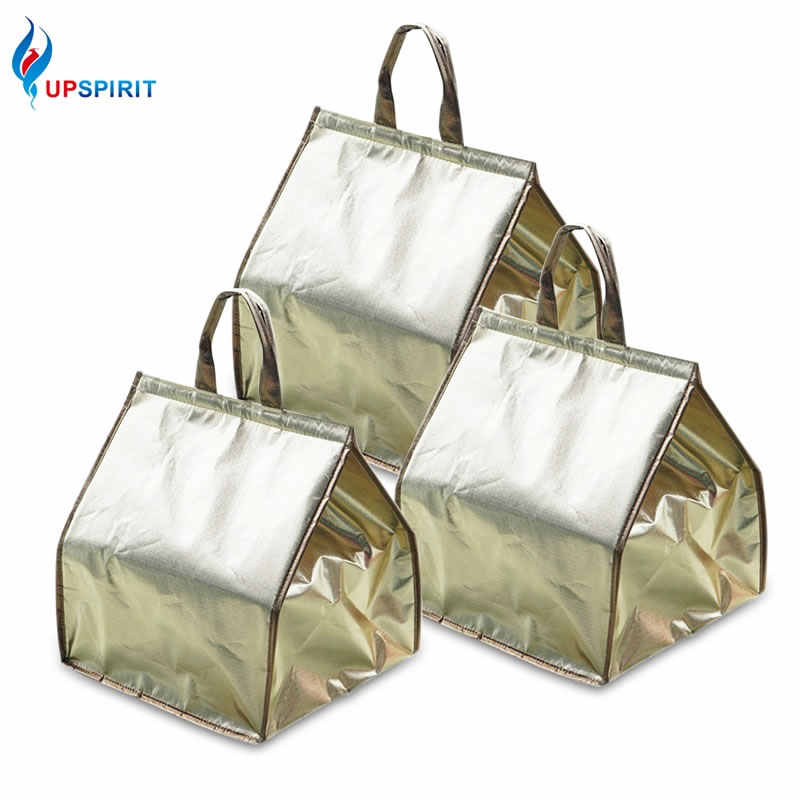 Detail Feedback Questions about Upspirit Aluminum Foil Gold Cooler  Insulated Thermal Carrier Portable Bag Pastry Cake Food Lunch Camping Picnic  Handbag ... 788e8e0a5d4a