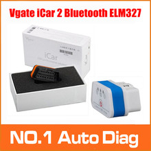 2015 New Design Fashion Mini ELM327 Vgate ICAR2 Bluetooth For Android &PC Vgate ICAR 2 Scan OBDII Diagnostic Tool 6 Color Choice