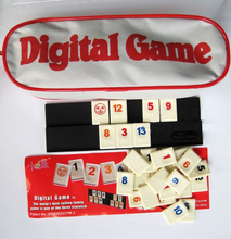 card game digital game rummikub, English version, playing cards game very suitable for the family board games