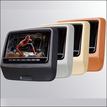 "Car headrest DVD monitor player Digital LCD screen /9"" DVD player with USB / SD / IR / FM / SPEAKER / GAME / HDMI car dvd player"