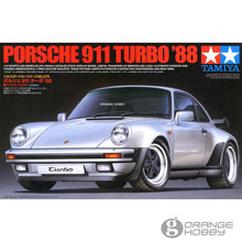 OrangeHobby Tamiya 24279 1/24 911 Turbo 88 Scale Assembly Car Model Building Kits