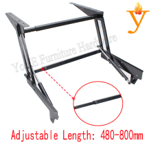 metal furniture frames Adjustable Height Coffee Table Mechanism/Hardware B13