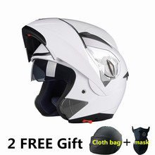 NEW ARRIVE DOT ECE sticker Flip Up Motorcycle helmet / motocicleta casco Helmets motorcross racing helmet M L XL XXL(China)