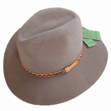Clasic Luxury Wide Brim Angora Wool Fedora Hat