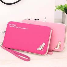 New style women's High-heeled shoes pencil case wallet Ms. Lunch box style purse Mobile Phone Bags Free Shipping 1311(China)