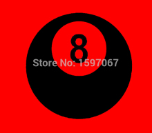 8 Eight Ball Pool Snooker Graphic Sticker Car Window Truck Door Toolbox Fuel Tank Cap Vinyl Decal(China)
