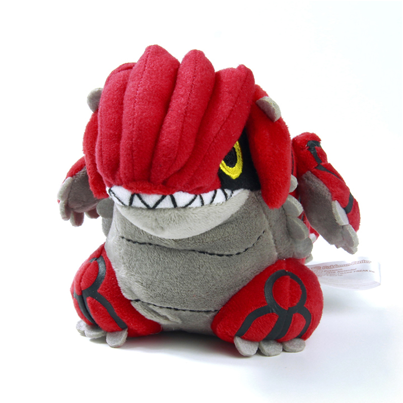 18cm Toypia Groudon Plush Toys Cute Groudon Stuffed Toy Doll Birthday Christmas Gift Anime Toy Figure Toy<br><br>Aliexpress