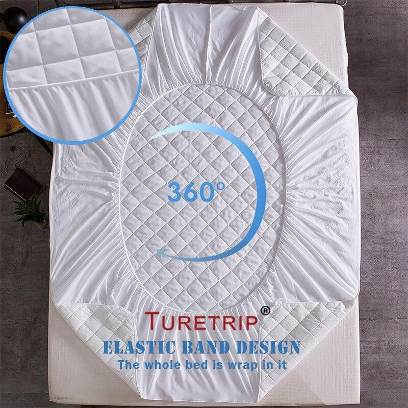 waterproof,Diamond Quilt Mattress cover (4)