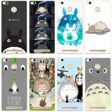 356GH Totoro Anime  Hard Transparent Cover Case for Xiaomi Redmi 3 3S 3Pro 4 4pro Note 3 4 Note 3 4x 4pro Max Mi5 Mi5s