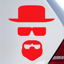 10 Pieces Customization Breaking Bad Car Body Stickers Car-Styling For all car accessories(China)