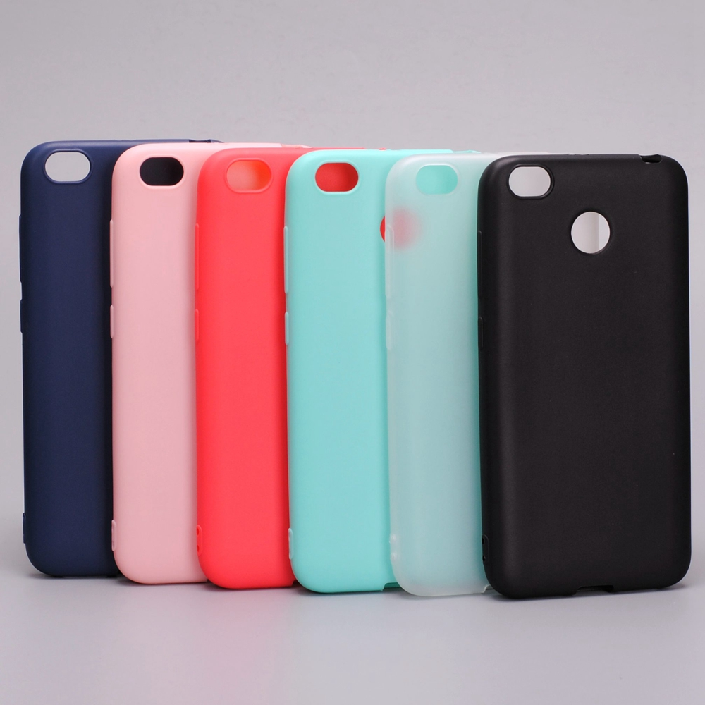 Xiaomi redmi 4x case Silicone cover 5.0 inch TPU case for xiaomi redmi 4X(China)