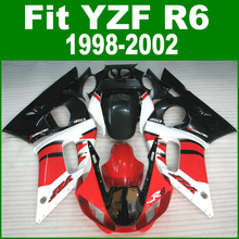 Free custom Fairings For YAMAHA R6 98 - 02 Abs Fairing kit ( red ) High quality Abs bodywork kits ll22