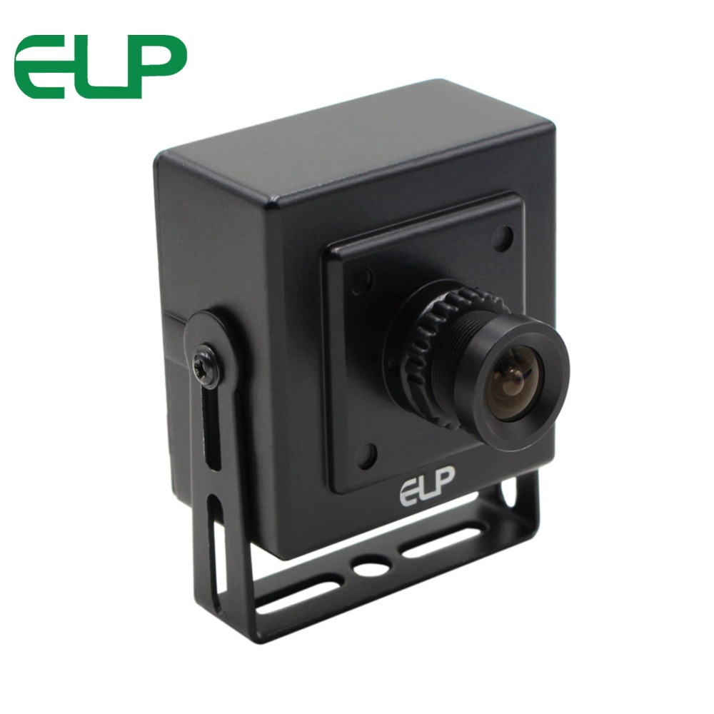 2015New  black aluminum case 480P 30FPS  cmos OV7725 mini  free drivr  high definition vga usb2.0 camera with 12mm megaixel lens<br>