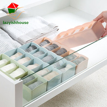 Fashion Underwear Storage Box Cabinets Organize Jewelry Storage Household Debris Finishing Classification Organizer Boxes 64180(China)