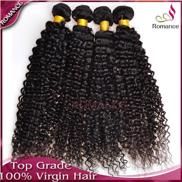 Shedding&amp;Tangle Free Brazilian Curly Hair,Popular Good Quality Curly Human Hair 4pcs Virgin Curly Brazilian Hair Extensions<br><br>Aliexpress