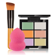 Professional Brand Foundation Make Up Base Color Corrector Pores Cover Face Concealer Contour Makeup Palette Sets