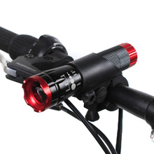 Protable CREE Q5 LED Bicycle frontal flashlight Torch 1600 Lumens 3 Mode Bike Light Waterproof + Holder Clip mount - ANWE TECH HOM Store store
