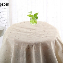 155*50CM Natural Cotton Linen Fabric Tissus Patchwork Quilting Linen Fabric For Sofa Table Cloth Curtain Cushion Home Decor OM46(China)