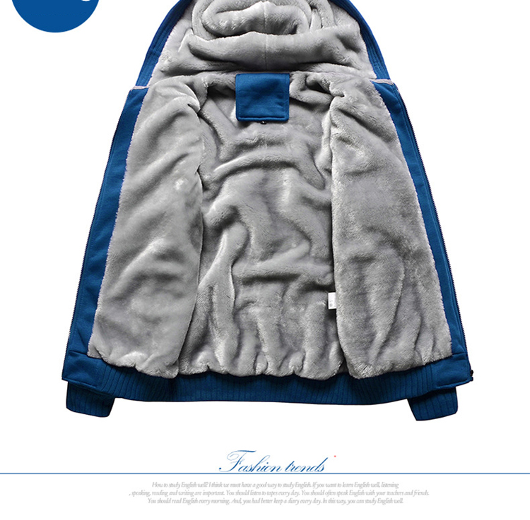 Hoodies Sweatshirt Men 17 New Autumn Winter Warm Thick Solid Casual Brand Tracksuit Men's Sweatshirts Hooded Plus Size 5XL 8