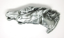 Two Horse Heads Western Belt Buckle(China)