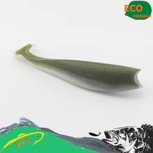 Saltwater fishing lure--11 cm Ultimate shad soft bait swimbait with rolling tail #H0904-110(China)
