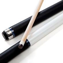 New Billiard Pool Cues Sticks 11.5mm Tip With Protector White /Black Color China 2017(China)