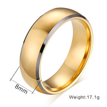 ZT Classic Man Rings Tungsten Steel Rings High Quality Jewelry Personality Spot Wholesale Agent Rings For Boy Festival Gift 30