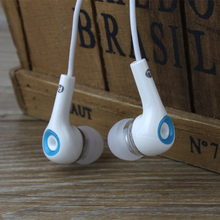 universal Stereo Earphone Headphones In Ear Headset handsfree 3.5mm Earbuds for all mobile phone mp3 free shipping