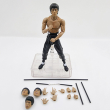 New S.H. Figuarts SHF Bruce Lee Kungfu Master Moveable PVC Action Figure 75th Anniversary Toys Christmas Gift New in BOX