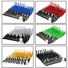 motorcycle accessories custom fairing screw bolt windscreen screw FOR SUZUKI GSXR 600/750 GSX-R 600/750 2006 2007 2008 2009 2010(China)