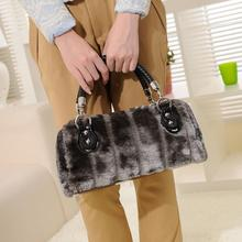 2015 Winter Women Handbags Faux Fur Bags Designer Handbags High Quality sac a main femme