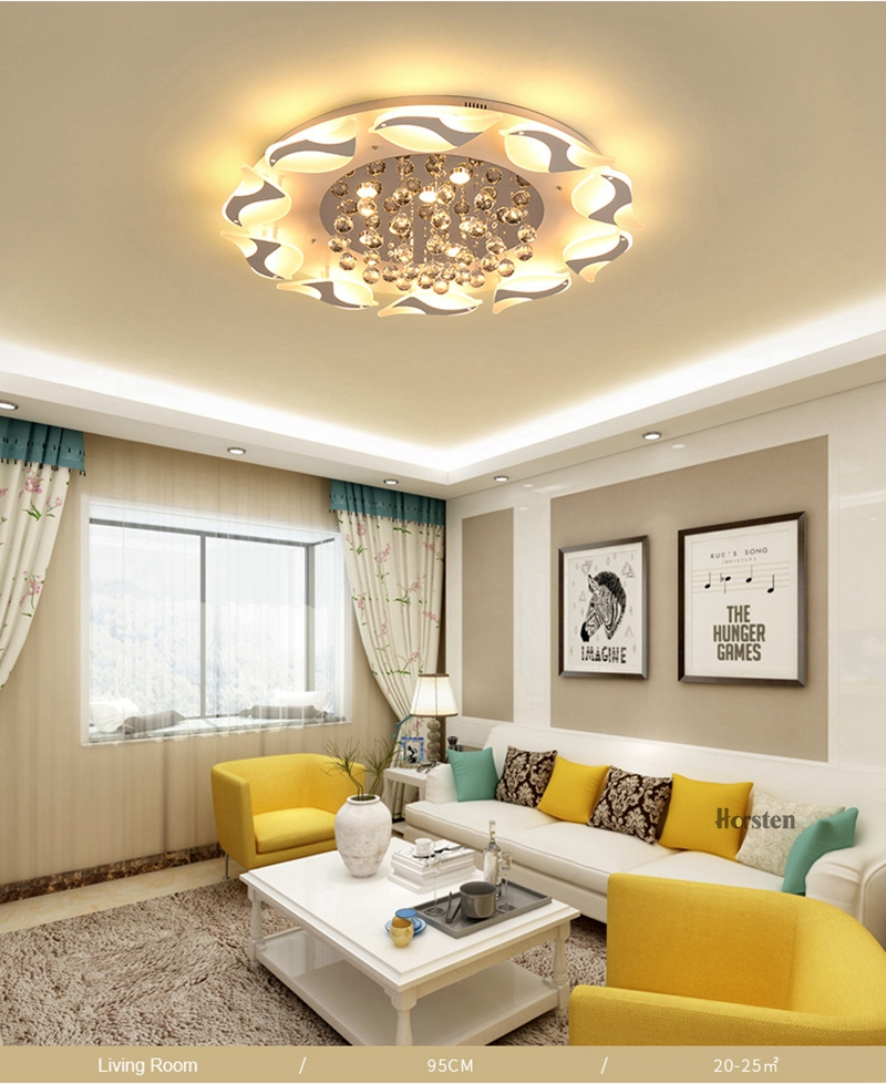 Modern Luxury Bird Crystal Ceiling Lamps With Remote Controller Dia957555cm Crystal Ceiling Chandelier For Living Room Bedroom (5)