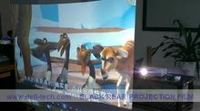 DfLabs NEW ARRIVE! Ultra black Rear Projector film, Rear projection foil, Rear projection screen(China)