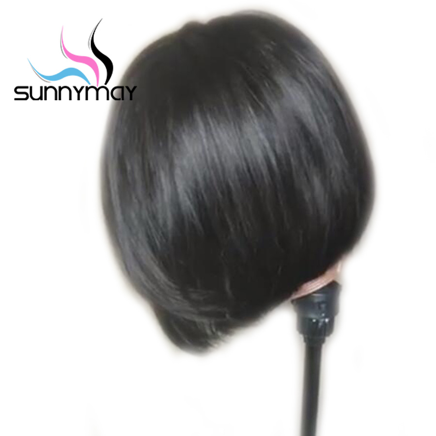 short lace front wig