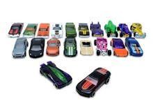 20pcs 100% Hotwheels cars miniatures hot sale Original race cars scale models mini alloy cars toy for boys hobby collection(China)