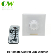 LED Dimmer IR Remote Control AC90-240V for Dimmable LED Bulb or LED Strip Lights(China)