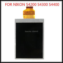 NEW With Backlight LCD Display Screen Repair Part for NIKON S4300 S4200 Digital Camera no Touch