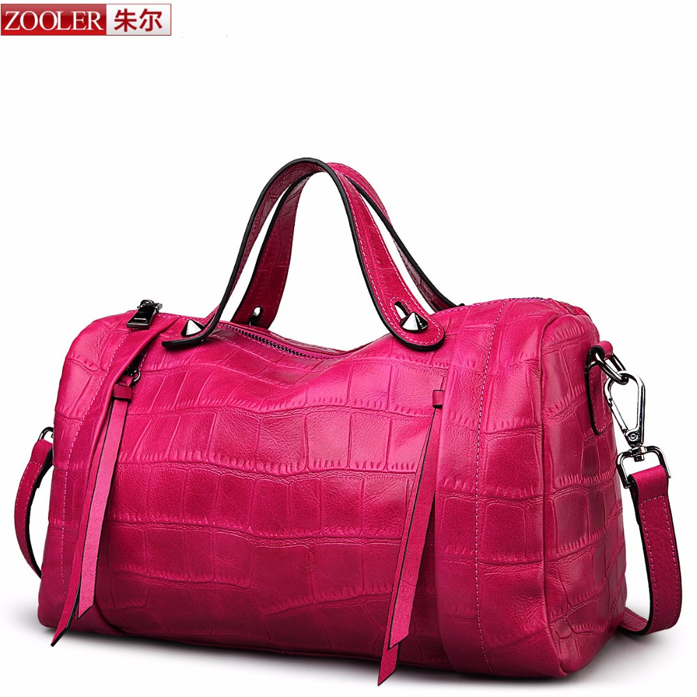 HOT Brand New women leather bag ZOOLER bags handbags women famous brands genuine leather bag OL stylish bags Winter new#3625<br><br>Aliexpress