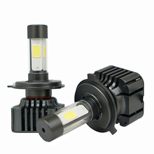 Buy V8S COB Car LED Headlight 80W 12000LM H1 H3 H4 H7 H8 H9 H11 9005 9006 9012 9004 9007 H13 Automobiles 6000K white Fog Lamps xenon for $29.11 in AliExpress store