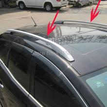 For Mazda CX-7 2007 2008 2009 2010 2011 High Quality Aluminium Alloy Luggage Rack Back Holder Side Bars Rail Roof Rack Trim 2pcs