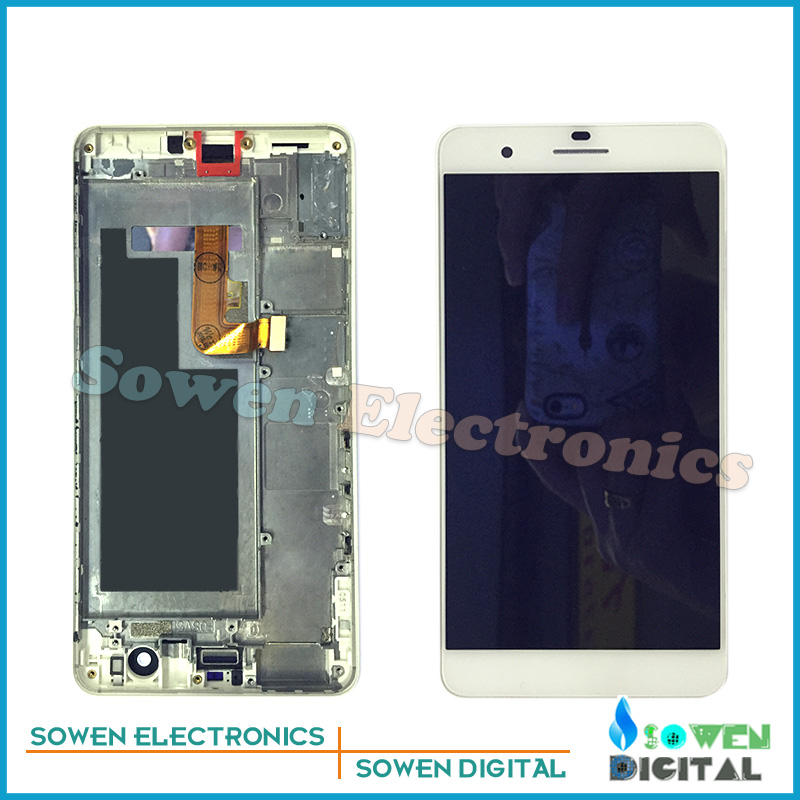 for Huawei Honor 6 plus LCD display with Touch Screen with Bezel frame assembly Full Set black ,,black white golden<br><br>Aliexpress
