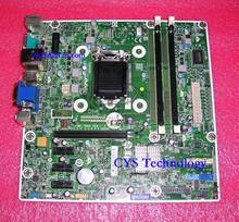Free shipping for original ProDesk 400 G1 MT PC mainboard MS-7860 V1.2 718413-001/501 718775-001 chipset H81 1150 work perfect