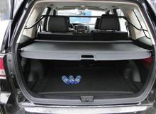 Car Rear Trunk Security Shield Shade Cargo Cover For Ford Kuga /Escape 2013 2014 2015 2016 (Black, beige)(China)