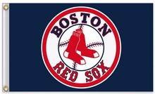 Boston Red Sox Flag MLB Flag hot sell goods 3X5FT 90x150cm Sport Outdoor Banner brass metal holes Custom flag,free shipping