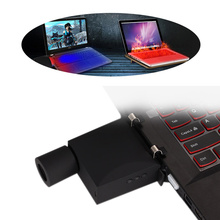 Mini Vacuum USB Laptop Cooler Fan Air Extracting Exhaust Cooling CPU Cooler Fan for Notebook Computer EM88
